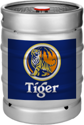 tiger beer fustage