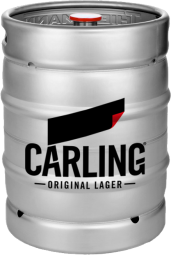 carling lager fustage