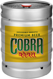 cobra beer fustage